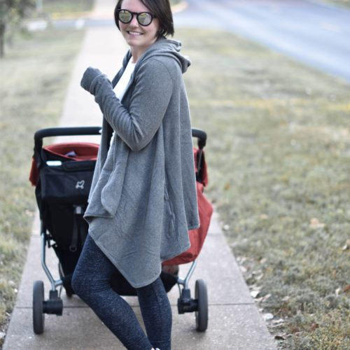 the cutest mom outfit for fall