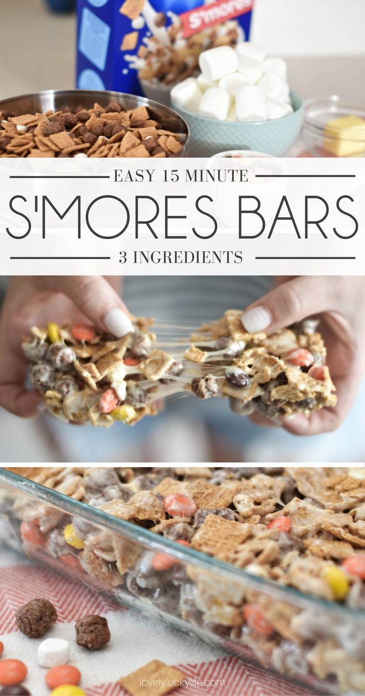 this recipe for smores bars is a must-make! the best snack for Halloween parties