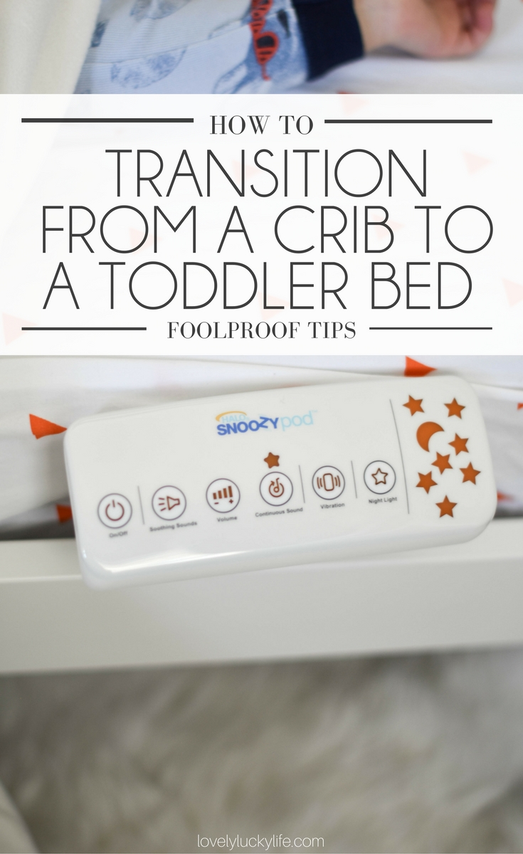 the crib to bed transition doesn't have to be terrible! here are the do's & don'ts for moving your toddler from a crib to a toddler bed without a struggle