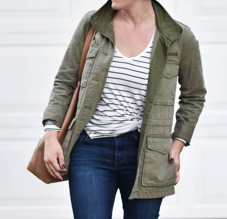 Momiform Must Have: Green Utility Jacket