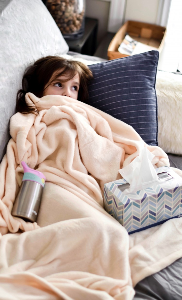this is a must pin! these tips for taking care of sick kids are great - perfect for cold & flu season