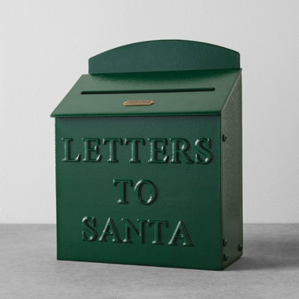 letters to Santa mailbox by Hearth & Hand