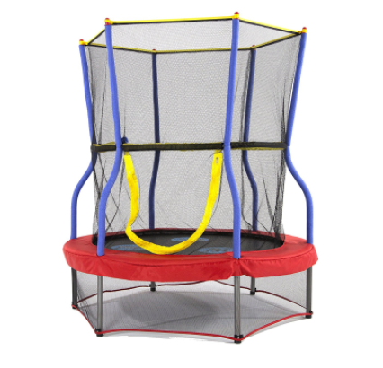 indoor trampoline - the best Christmas gift for a 2 year old or 3 year old