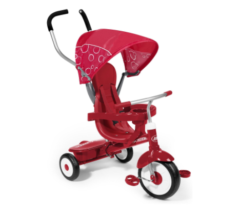 this tricycle makes a great big Christmas gift for a 1 year old - it grows with them throughout the years