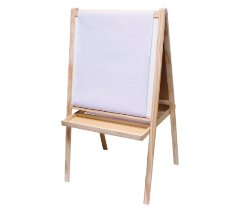 this easel would make an amazing Christmas gift for a little girl who loves art - great Christmas gift for a 3 year old girl