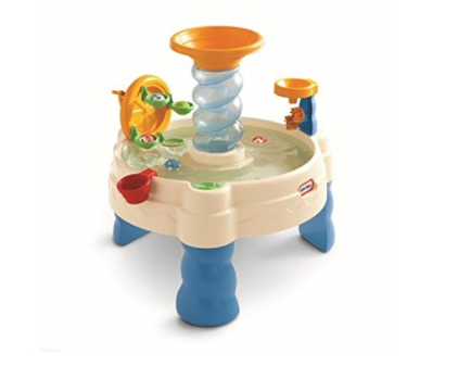 this Fisher Price water table is under $30, perfect gift for a 1 year old