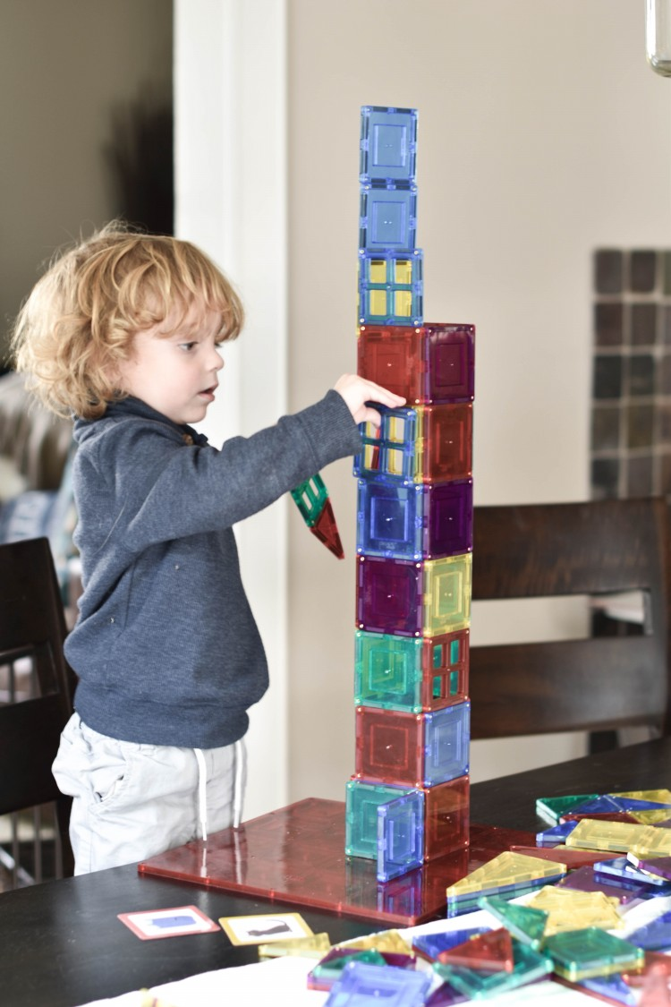 our favorite way to sneak in STEM play and learning