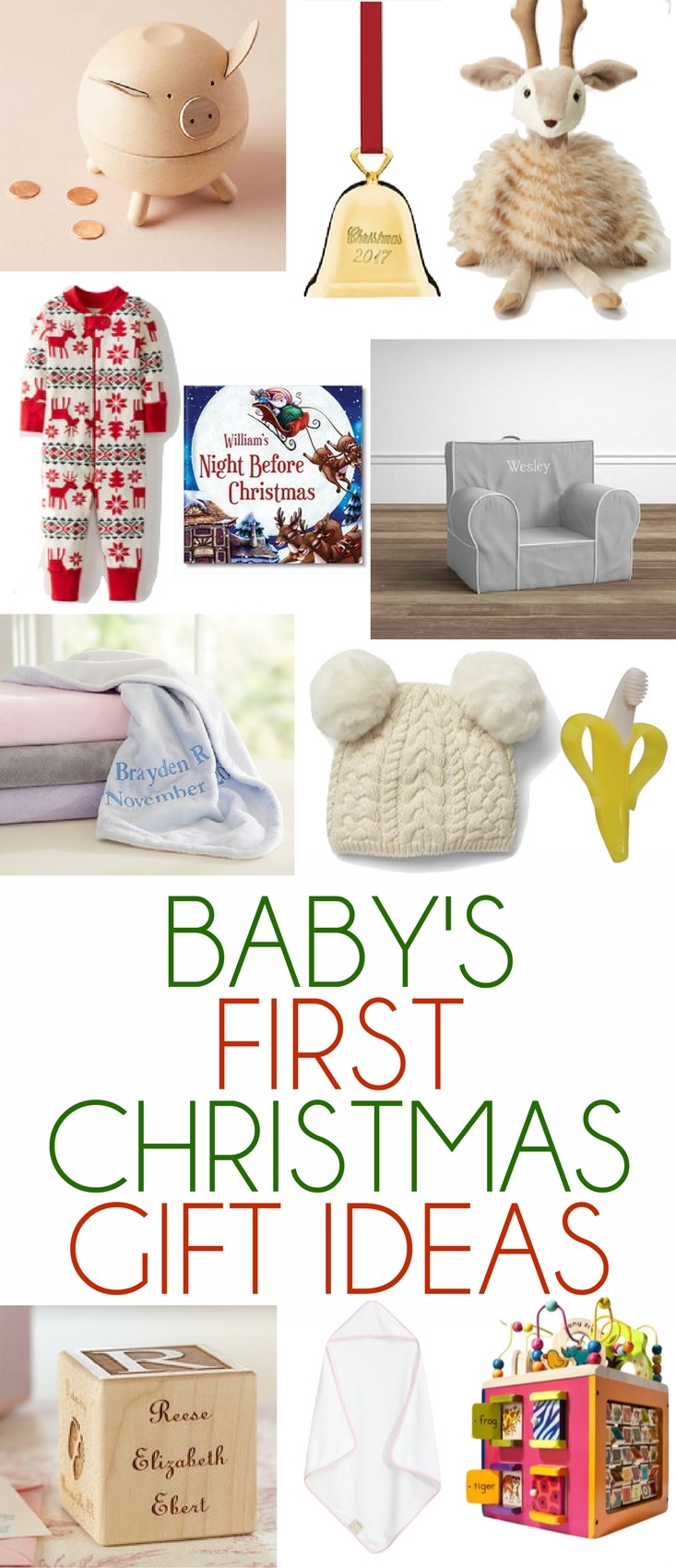 Baby\'s First Christmas Gift Ideas - Lovely Lucky Life