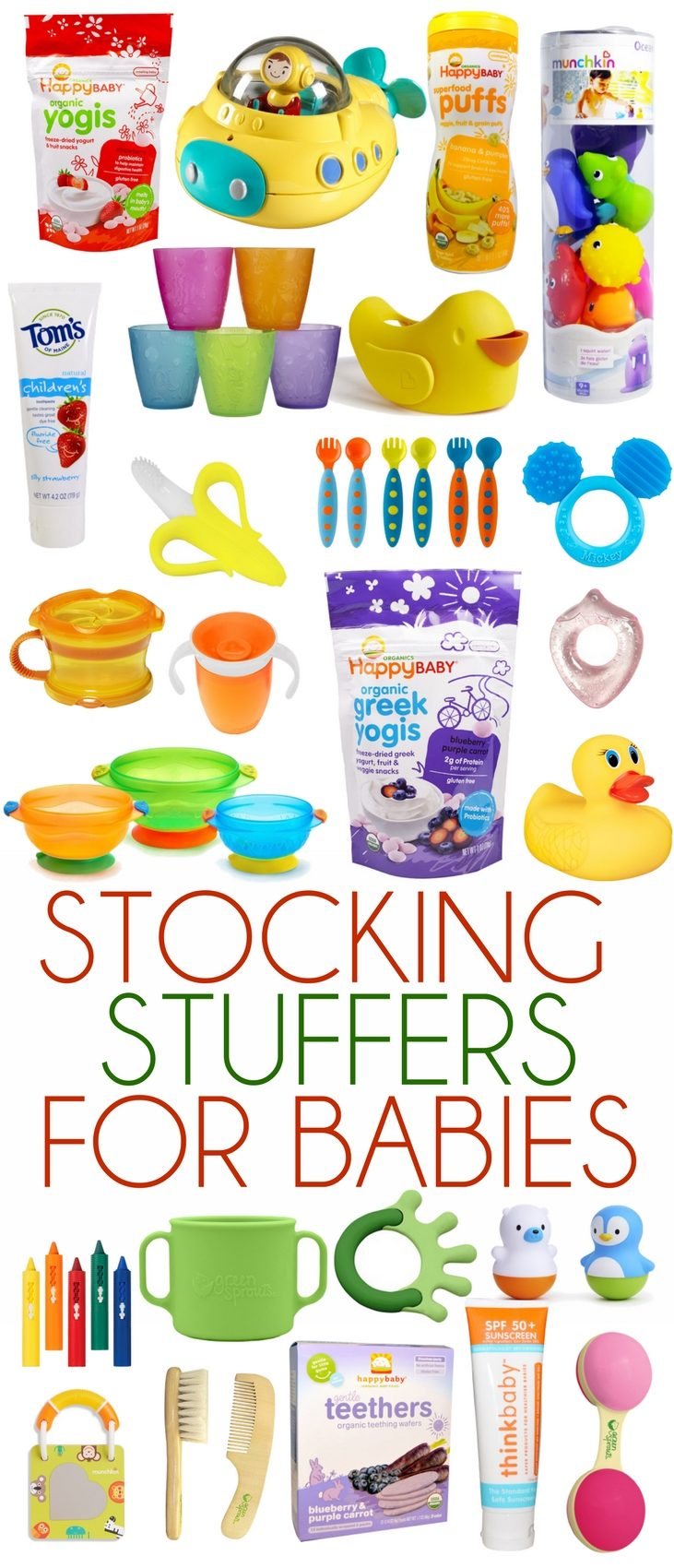 these are the best stocking stuffers for babies & toddlers - all under $25!