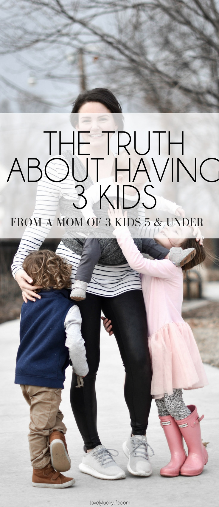 weighing the pros & cons of having a third baby? here's the truth about having three kids from a mom of 3 kids ages 5 & under #motherhood #momlife