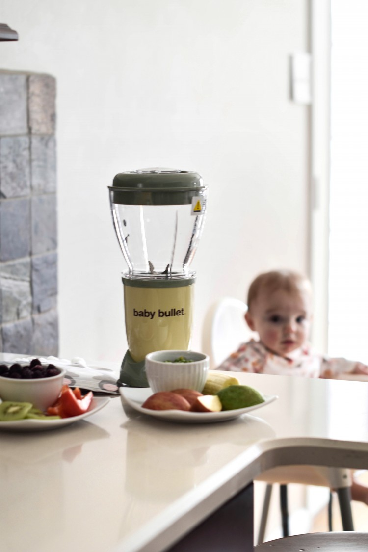 Baby Bullet makes it easy to make fresh, DIY baby food pouches versus the expensive store bought pouches