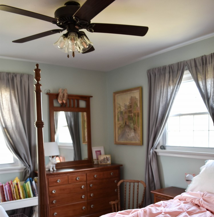 Easy $30 Ceiling Fan Makeover – No Handyman Required