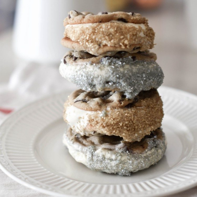 the easiest chocolate chip cookie sandwich recipe