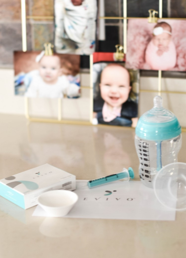 evivo infant probiotic helps keep breastfed babies healthy and happy