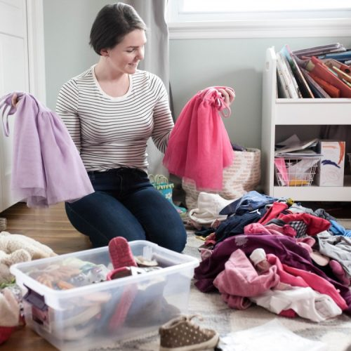 how to purge your kids' clothes and toys, guilt-free