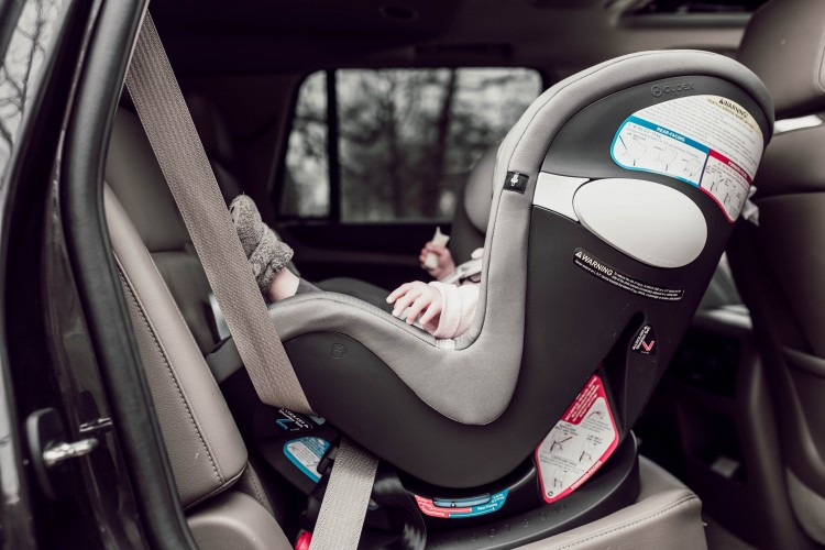 car seat safety tips from a mom of 3 - rear facing vs forward facing, where should the chest clip go, and how to install your car seat