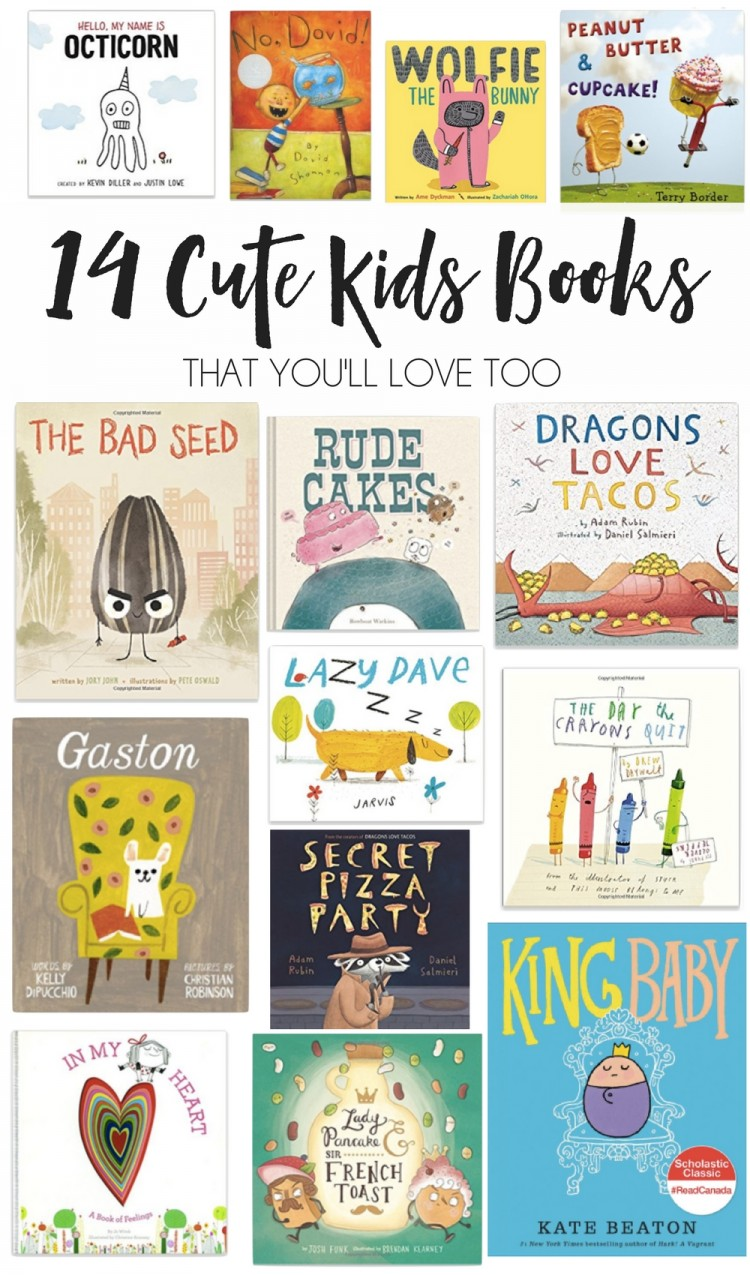 this list of children's books is SO cute! a fun list of cute and funny books you won't mind reading #kids #books #toddlers