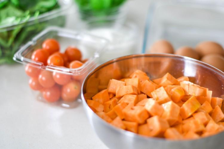 healthy sweet potato breakfast casserole recipe - 21 day fix approved!