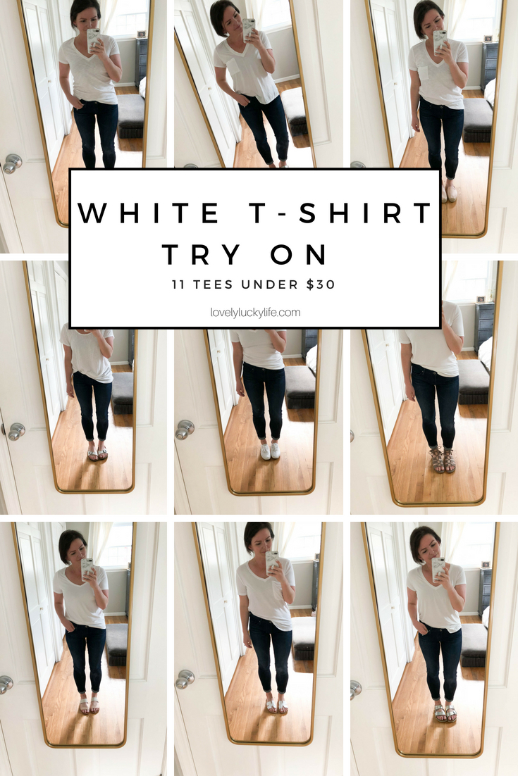 casual white tshirt outfits + the best white tees ranked