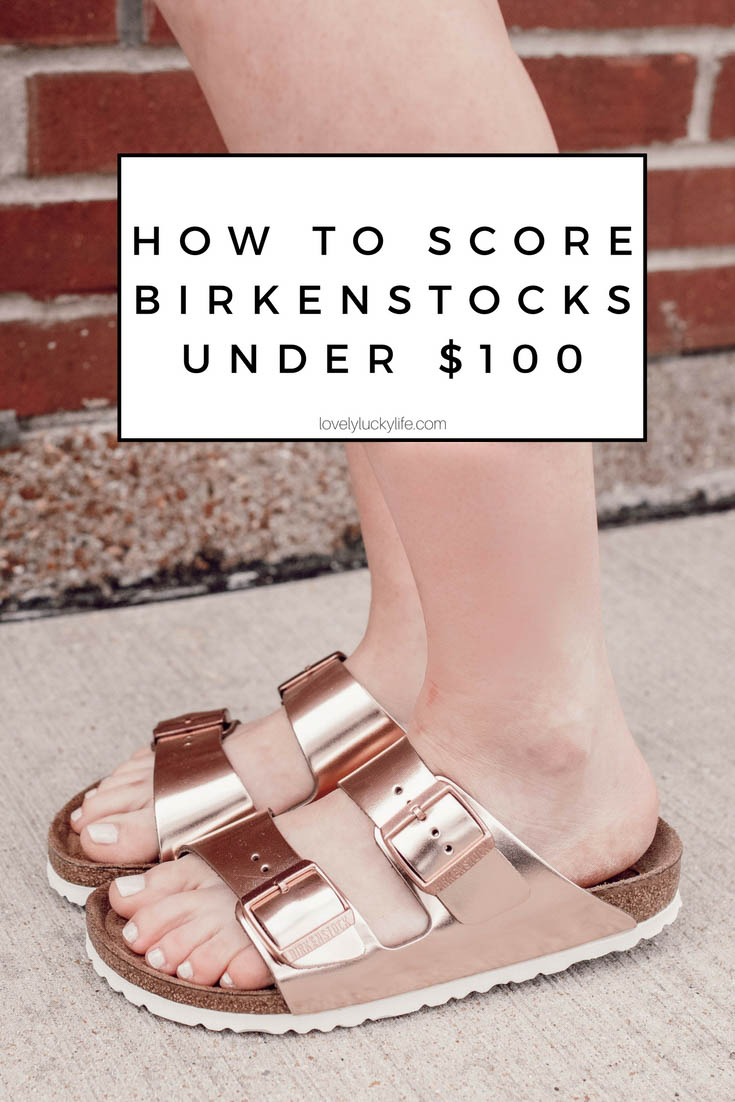 how to get Birkenstocks on sale - this is the secret shopping hack to snag Birkenstocks for under $100 #birkenstock #sale #shopping // how to get Birkenstocks cheap