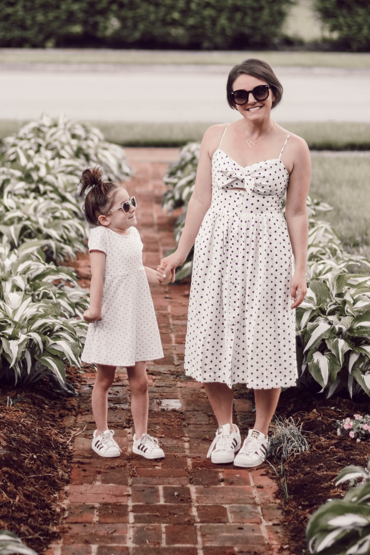 these are the cutest matching mommy & me dresses & shoes!