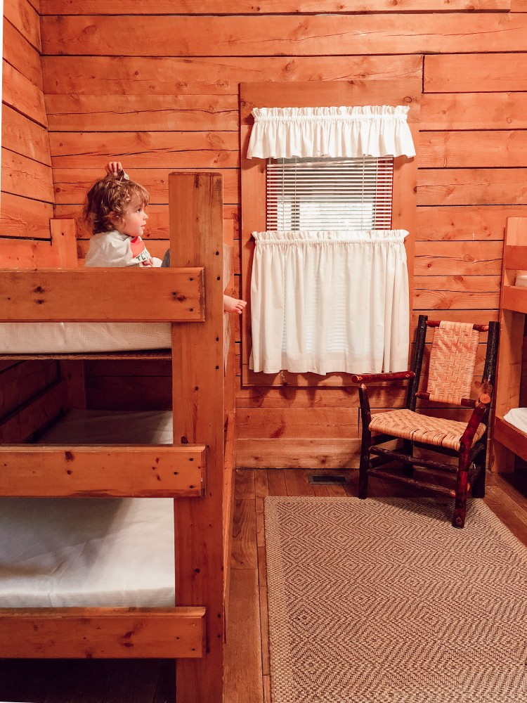 is there anything better than bunkbeds in a cabin for a summer #camping trip? #cabin