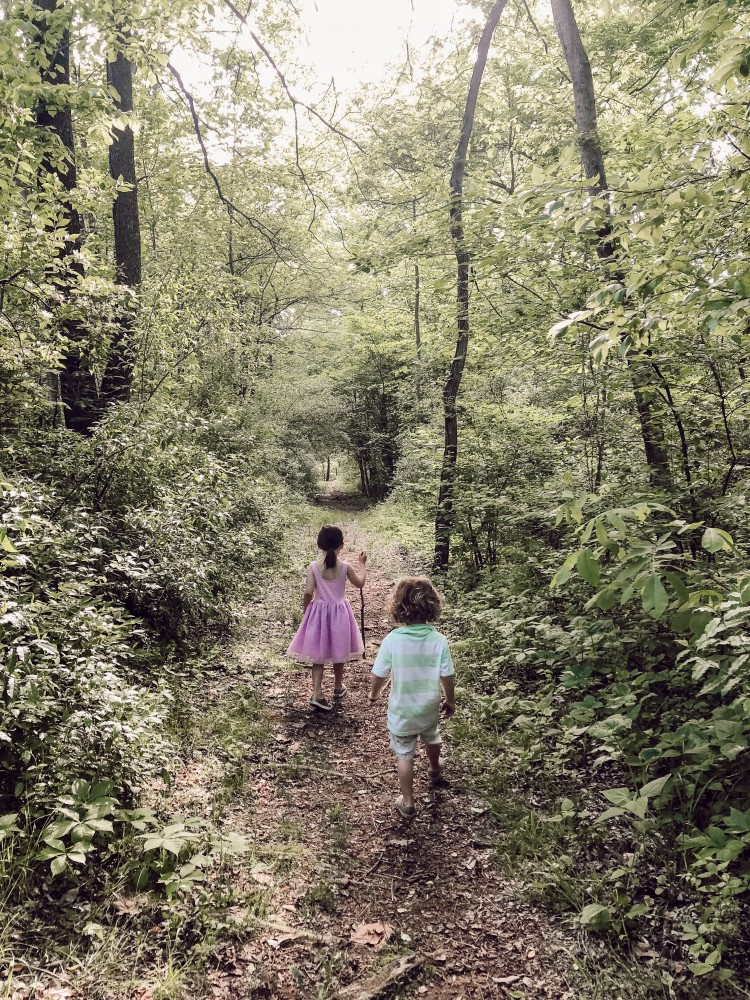 nature walk with kids - #vacation #camping #summer