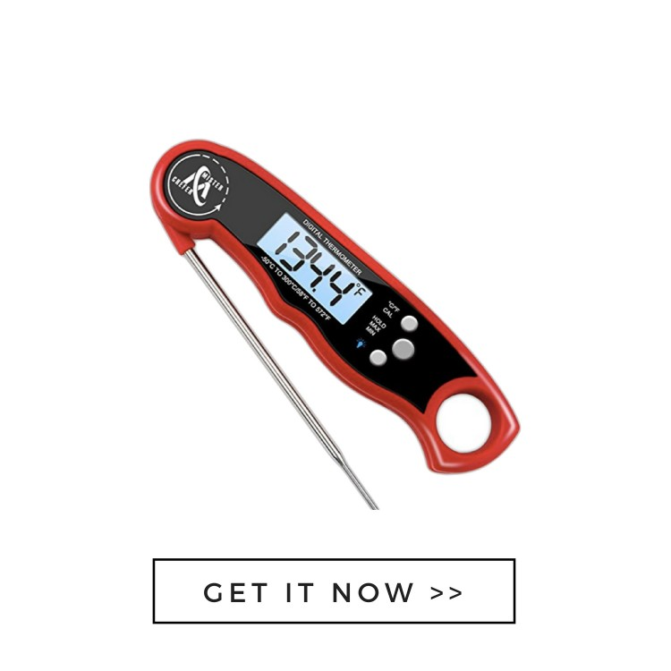 food thermometer father's day gift for the grilling dad
