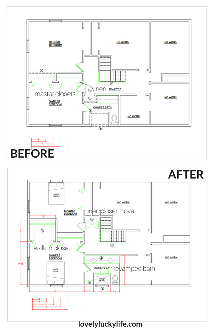 master bathroom remodel plans