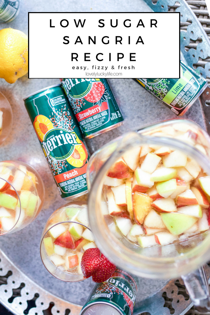 the easiest fresh fruit sangria recipe