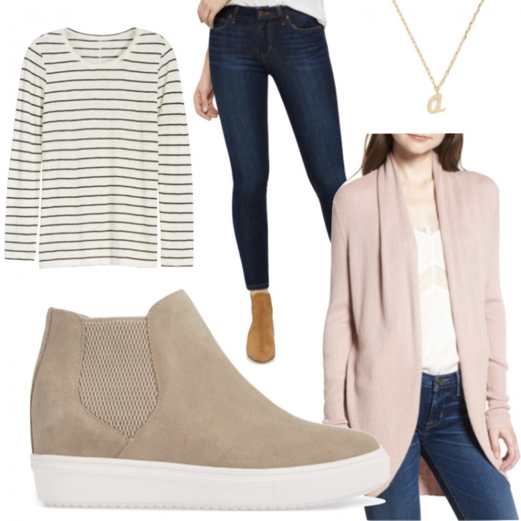 build your capsule wardrobe! this post has 15 outfits from 9 pieces