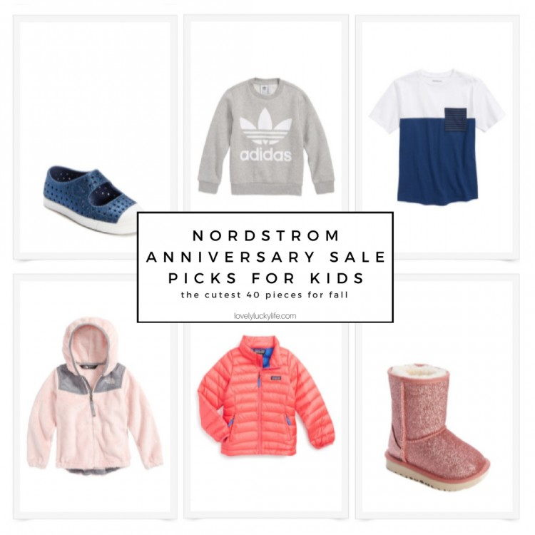 nordstrom anniversary sale picks for kids