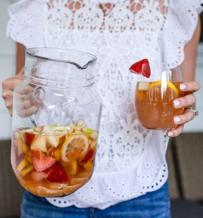 Easy Low Sugar Sangria Recipe