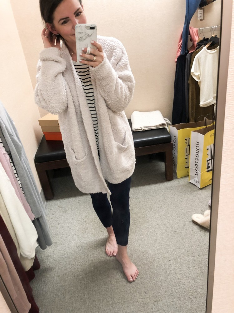 cozy barefoot dreams cardigan