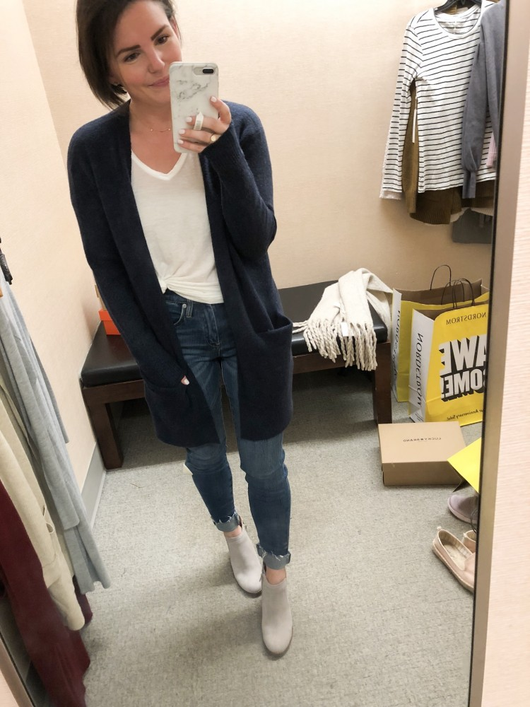 madewell cardigan from the nordstrom sale