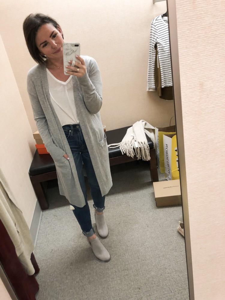 long grey lightweight cardigan nordstrom sale