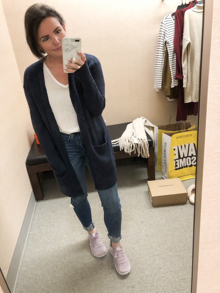 navy madewell cardigan nordstrom sale