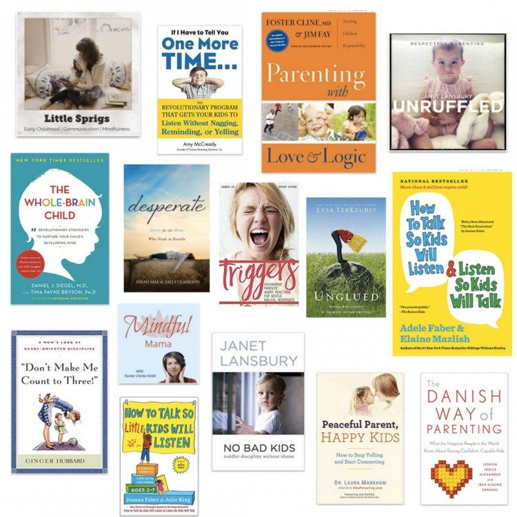 the best podcasts for moms + the best books for moms about motherhood & parenting