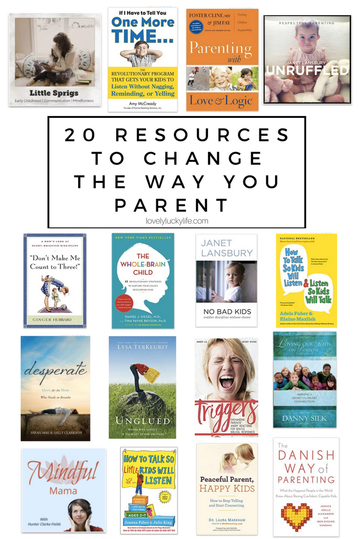 the best parenting resources for moms to change the way you parent!