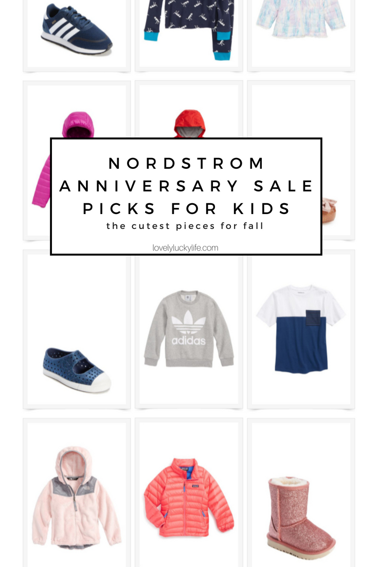 the cutest picks for kids from the Nordstrom Anniversary Sale