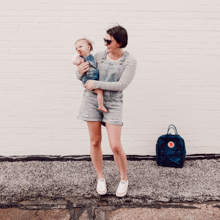 How to Wear Overall Shorts Two Ways + Win $750 to Nordstrom