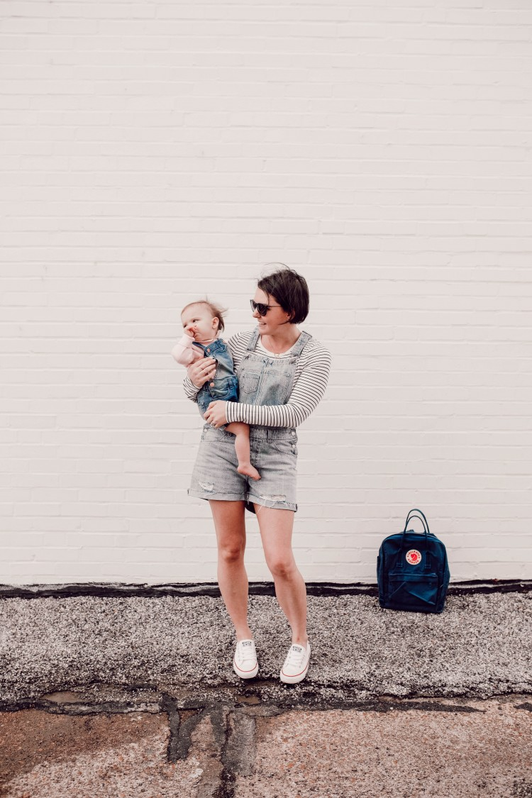 how to style shortalls without looking like a toddler