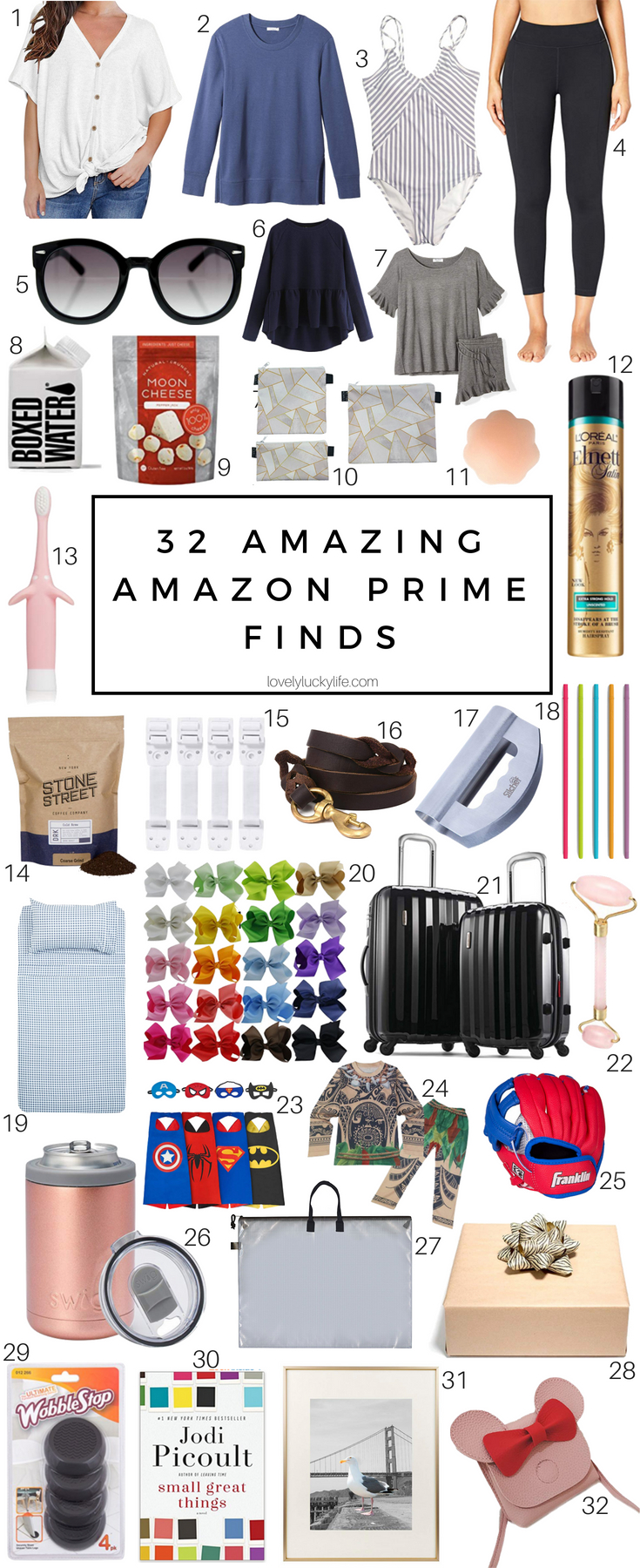 amazon prime finds for moms - the best stuff on Amazon for moms, kids & the house