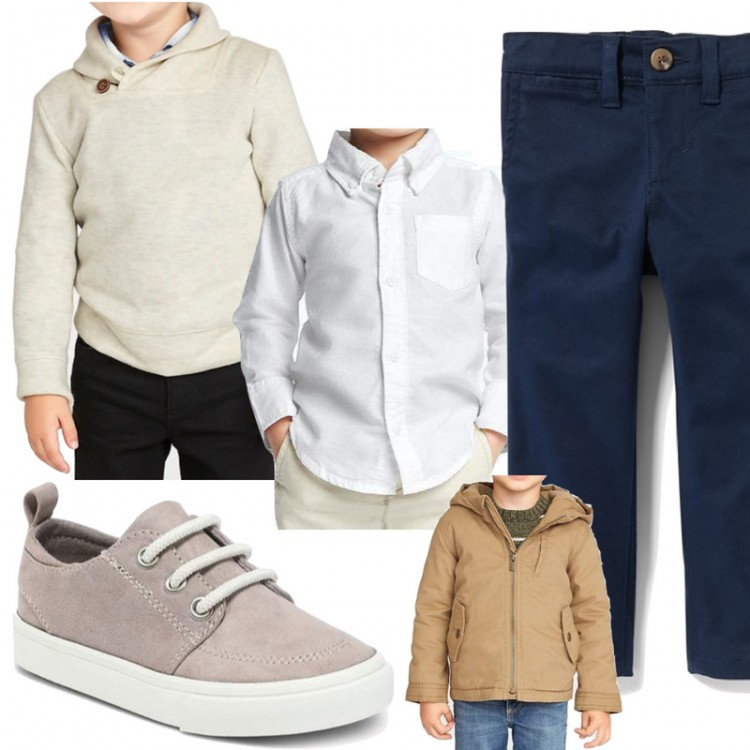 how to build a toddler boy's capsule wardrobe