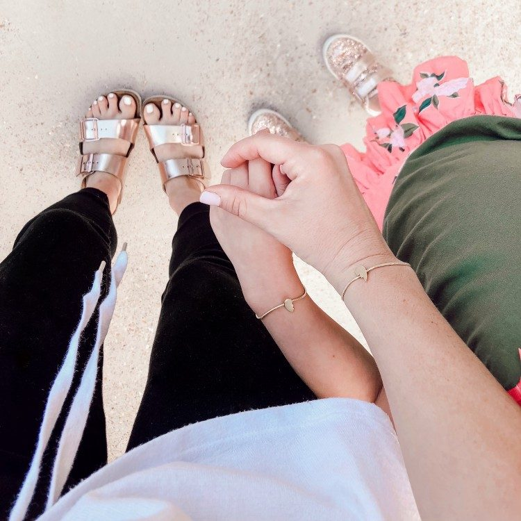 back to school friendship bracelets for mom and daughter