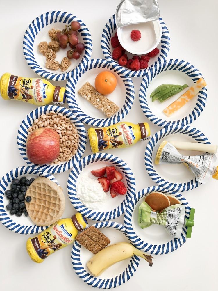 2 weeks worth of breakfast ideas for kids