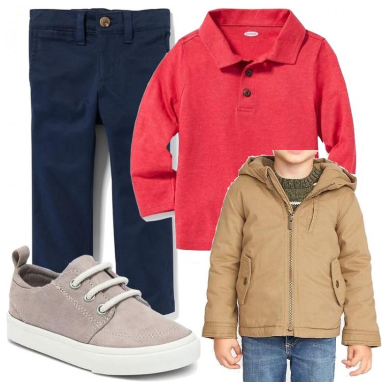 a classic boy's capsule wardrobe