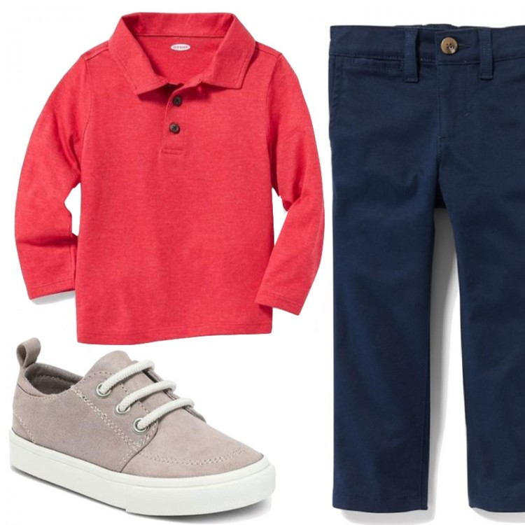 classic outfit idea for boys