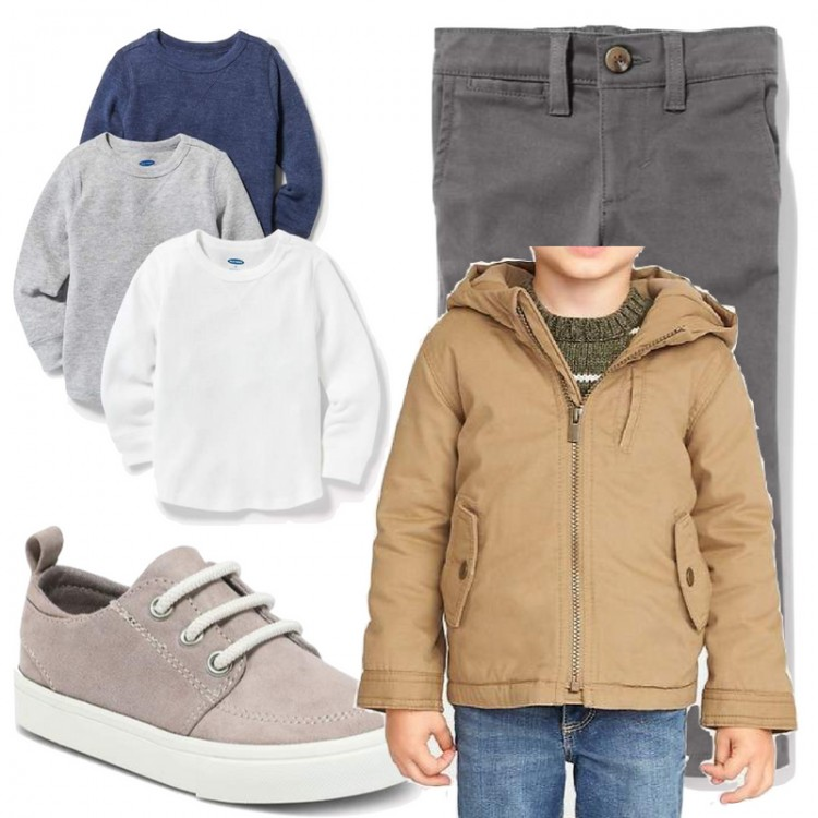 the easiest way to get your toddler boy dressed in the morning: capsule wardrobe