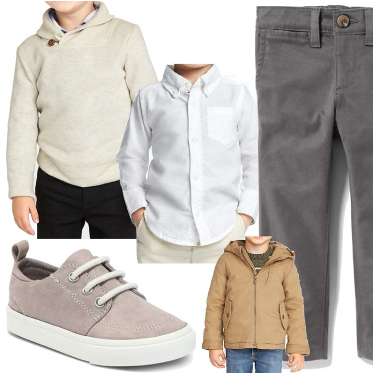 cutest layered outfit for boys